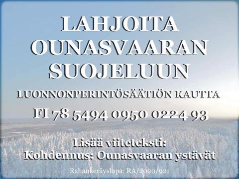 Ounasvaaran suojelu