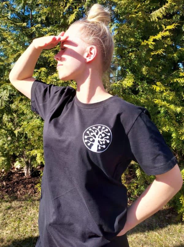Luonnonperintösäätiö t-paita haapalogolla